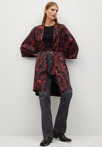 Mango - SIAM - Classic coat - schwarz - 1