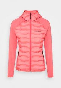 Peak Performance - ARGON HYBRID HOOD - Outdoor jacket - alpine flower - 0