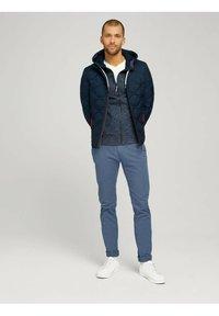 TOM TAILOR - Zip-up hoodie - dark blue - 1