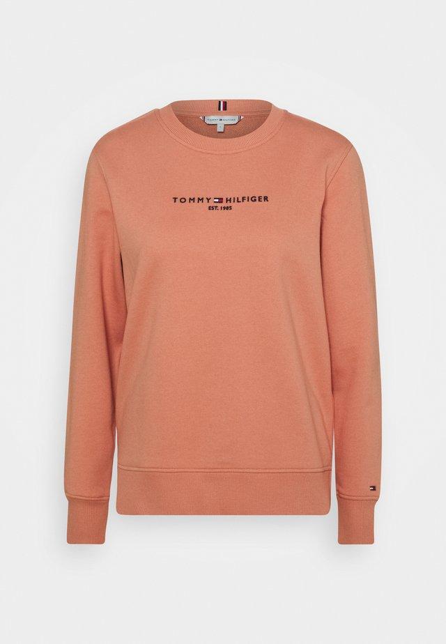 Sweatshirt - clay pink