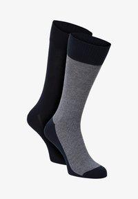 Levi's® - 2 PACK - Socks - indigo schwarz - 0