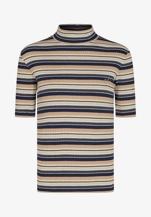 JOELINA  - Print T-shirt - ombre blue