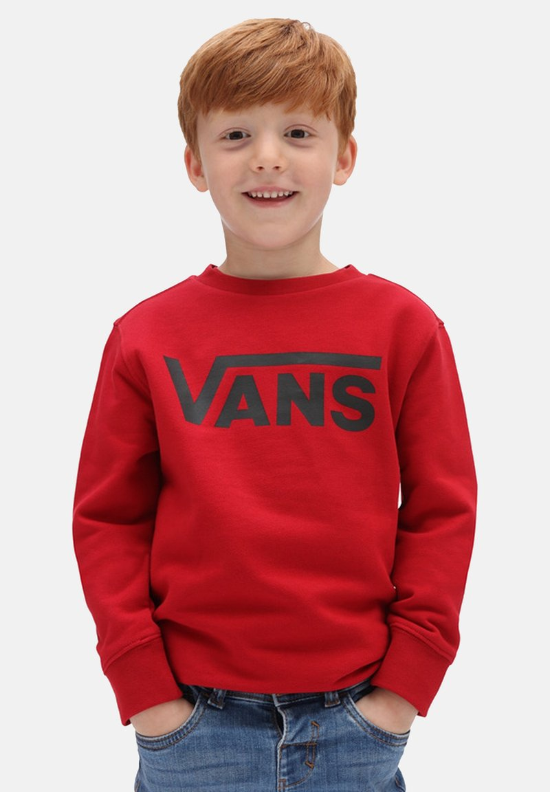 Vans - BY VANS CLASSIC CREW KIDS - Maglione - chili pepper