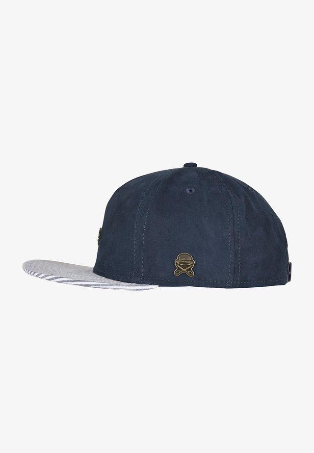 Casquette - navy/light blue