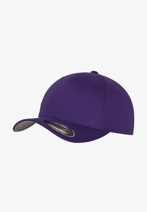 WOOLY COMBED  - Cap - purple