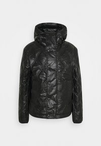 Diesel - CRAWFORD SHINY GIACCA - Winter coat - black - 5