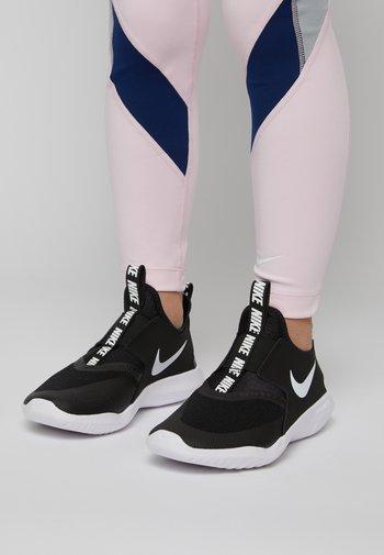 FLEX RUNNER UNISEX - Neutral running shoes - black/white