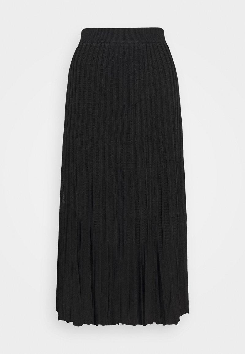 Rosemunde - SKIRT - Pouzdrová sukně - black