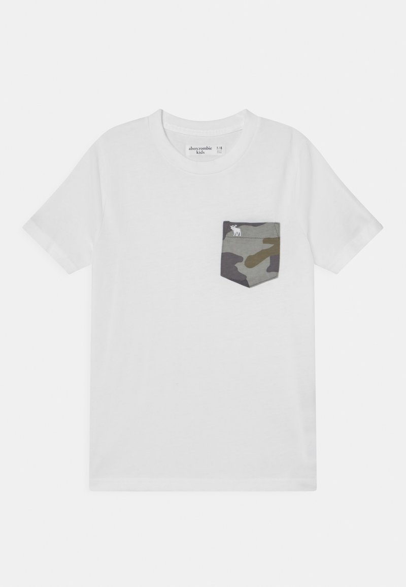 Abercrombie & Fitch - NOVELTY  - Print T-shirt - white