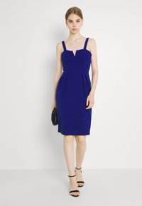 WAL G. - IMAANI STRAPPY MIDI DRESS - Cocktail dress / Party dress - electric blue - 1