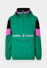 Karl Kani - UNISEX RETRO BLOCK  - Windbreaker - turquoise - 2