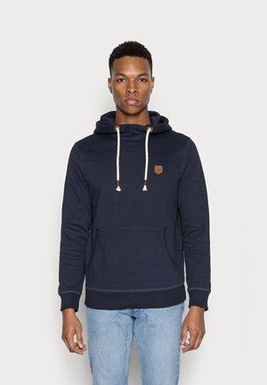 JPRBLUDAN HIGH NECK HOOD  - Sweatshirt - navy blazer