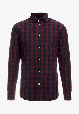 JJEGINGHAM - Overhemd - port royale/mixed navy