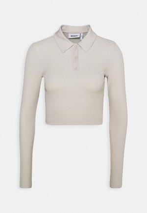 ERIN LONG SLEEVE - Poloskjorter - beige