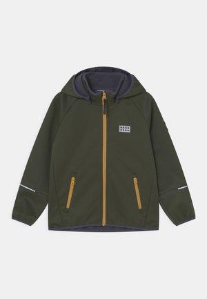 SKY UNISEX - Soft shell jacket - dark green