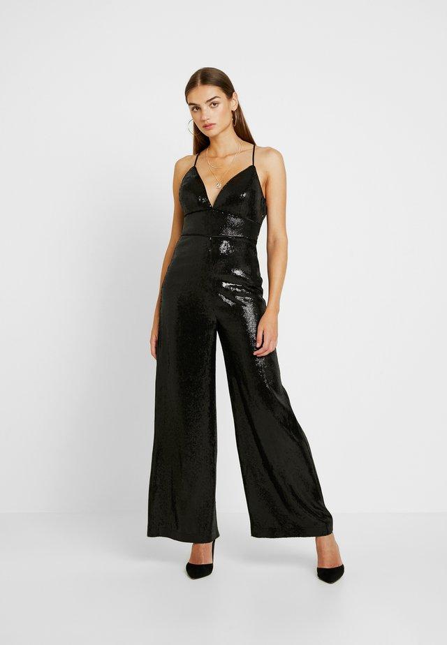 SEQUIN  - Tuta jumpsuit - black