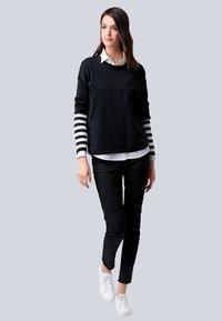 Alba Moda - Sweatshirt - schwarz,off-white - 1