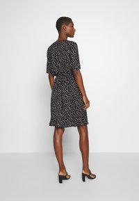 Saint Tropez - MINA DRESS ABOVE KNEE - Žerzejové šaty - black - 2
