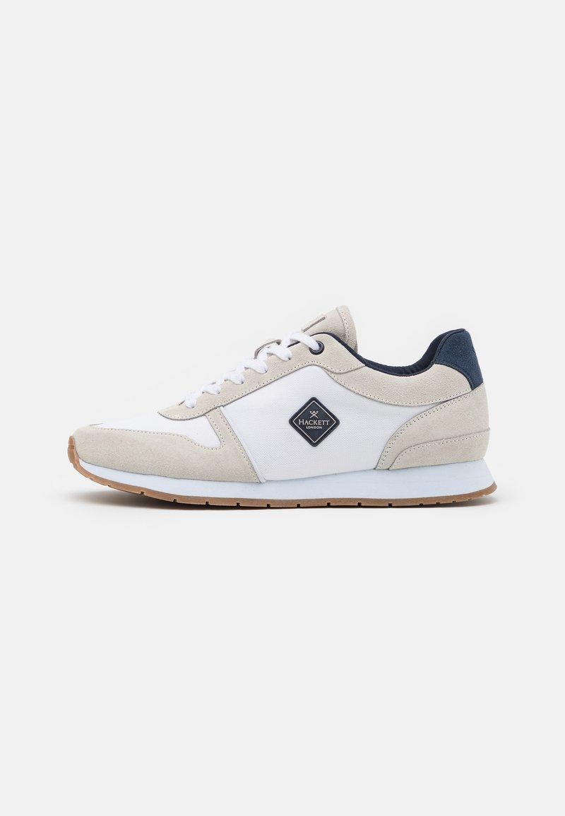 Hackett London - YORK EYELT TRAINER - Sneakersy niskie - offwhite