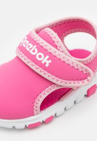 Reebok - WAVE GLIDER III UNISEX - Walking sandals - kicks pink/classic pink/white - 5