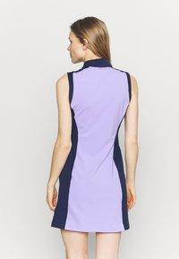 Kjus - WOMEN SUSI DRESS - Sports dress - iris purple/atalanta blue - 2