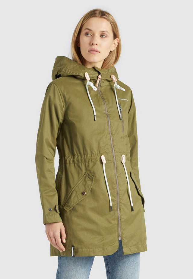 NORTH - Parka - oliv