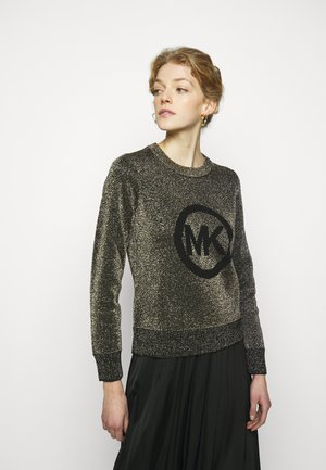 SWEATER - Jumper - black/gold