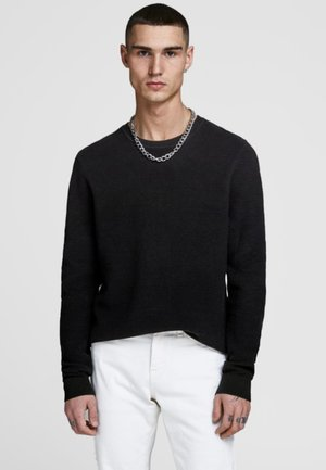 JELIAM CREW NECK - Trui - black