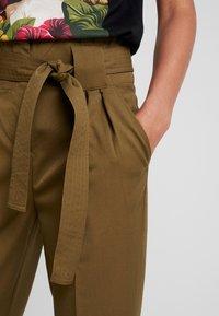 YAS - YASTUDOR PANT - Trousers - military olive - 5