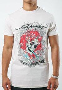 Ed Hardy - SPIRITS-REST T-SHIRT - Print T-shirt - lilac - 0