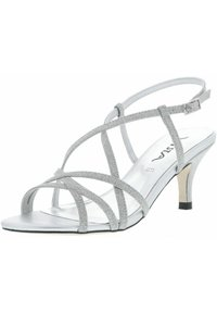 Vista - GLITZEROPTIK  - High heeled sandals - silber - 0