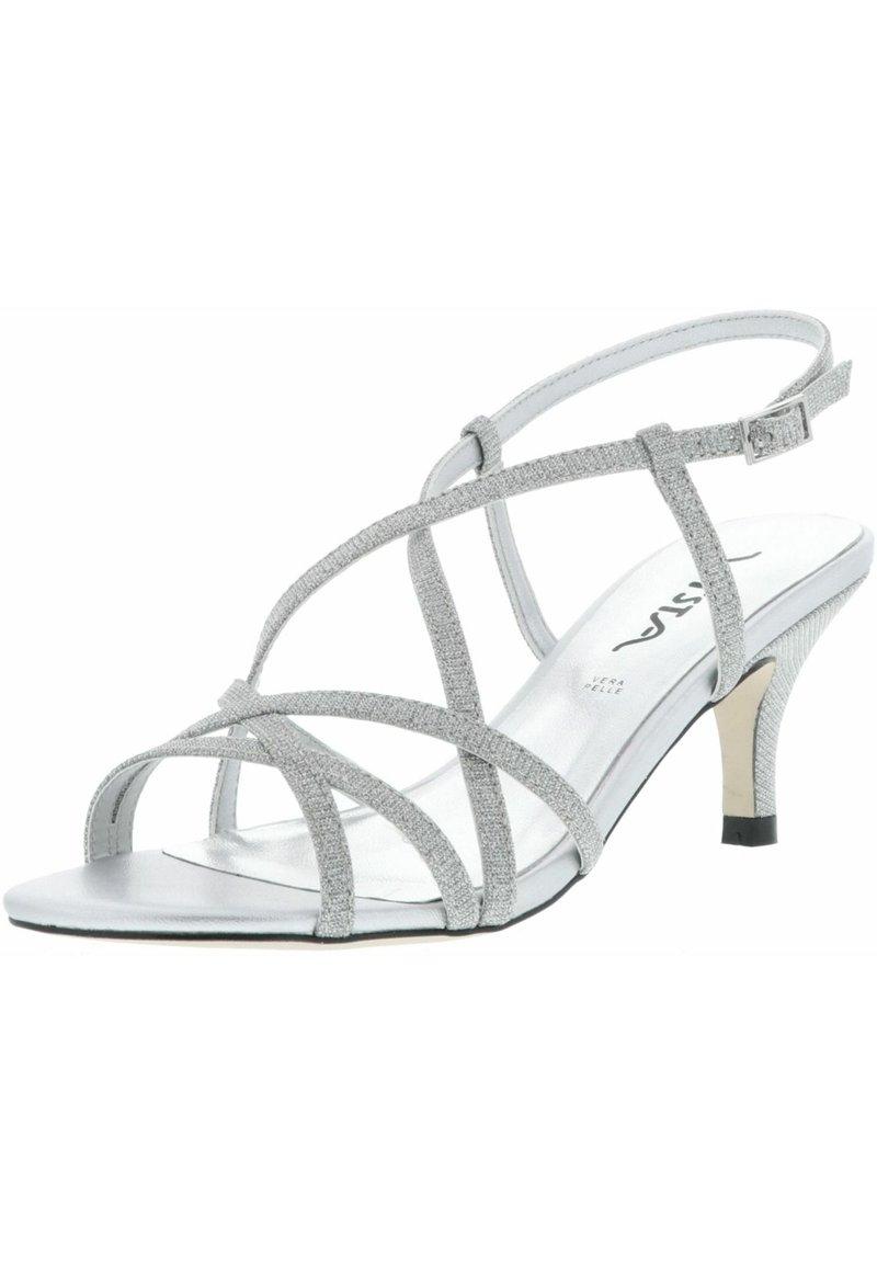 Vista - GLITZEROPTIK  - High heeled sandals - silber