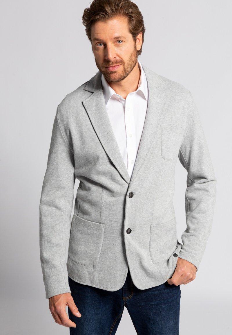 JP1880 - JP - Blazer jacket - hellgrau-melange