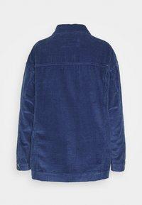 Marks & Spencer London - OVERSHIRT - Summer jacket - blue - 1