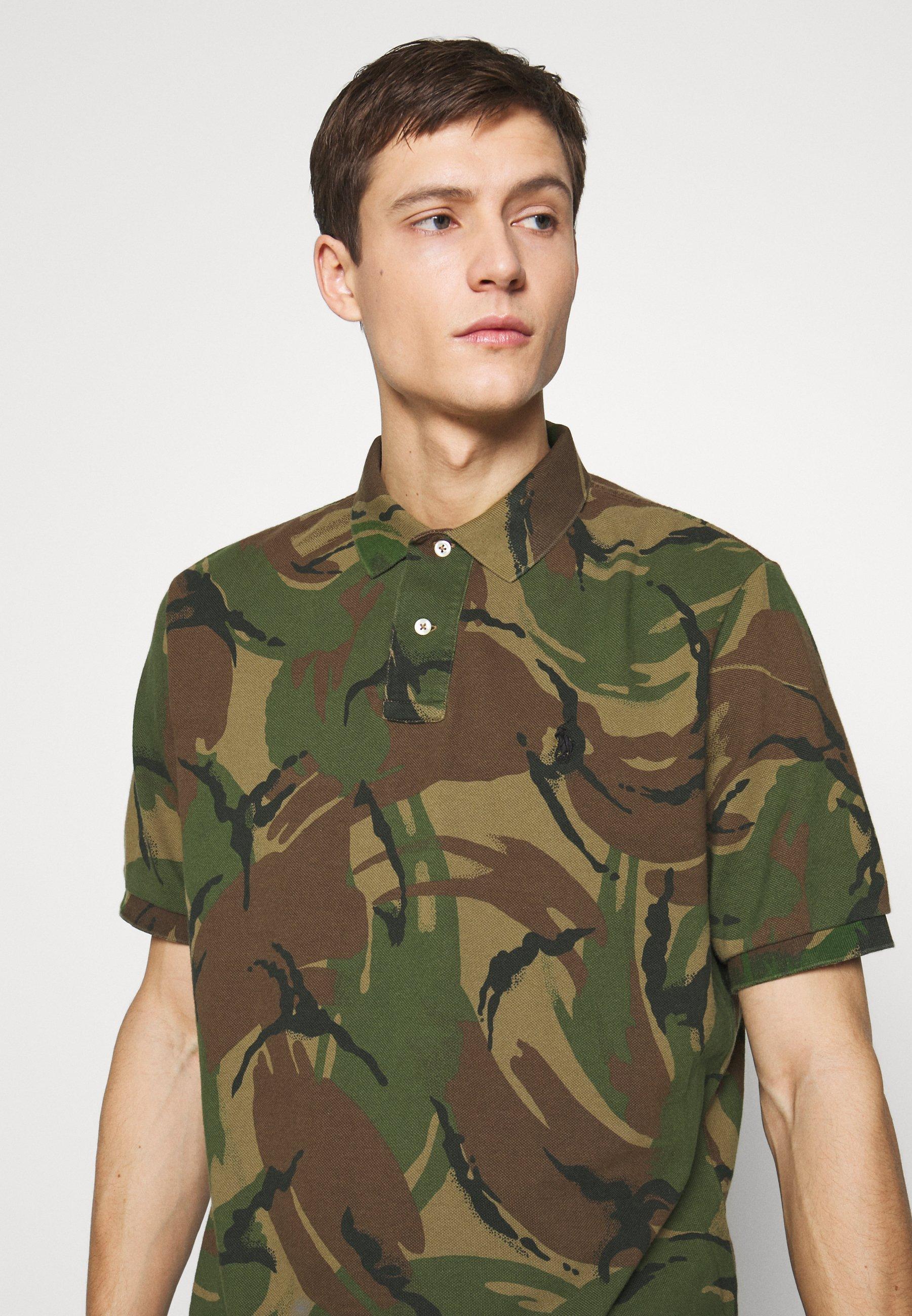 Zakup Gorąca wyprzedaż Polo Ralph Lauren BASIC - Koszulka polo - british elmwood | Odzież męska 2020 UYkjy
