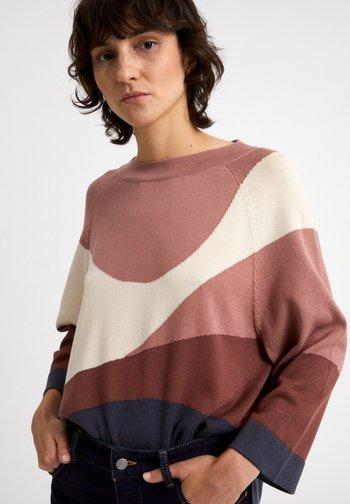 JAPAANDI SOFT HILLS - Sweatshirt - dusty rose