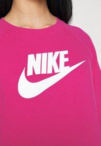 Nike Sportswear - CREW - Sweater - fireberry/white - 4