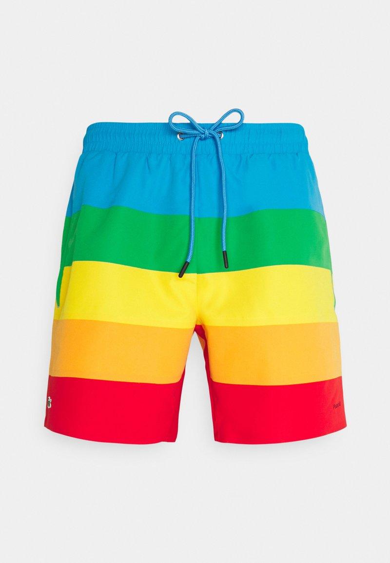 Lacoste - POLAROID  - Swimming shorts - malachite/gypsum/orpiment/corrida