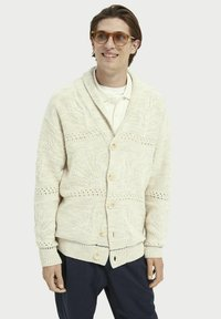 Scotch & Soda - JACQUARD  - Cardigan - sand melange - 3