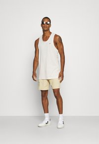 Tommy Jeans - RACER BACK TANK - Top - white - 1