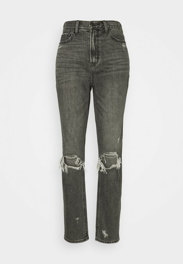 HIGHEST RISE MOM - Slim fit jeans - black wash