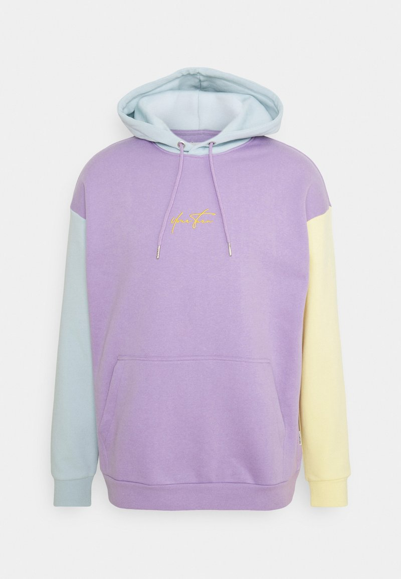 YOURTURN - UNISEX - Sweatshirt - lilac/light blue/yellow