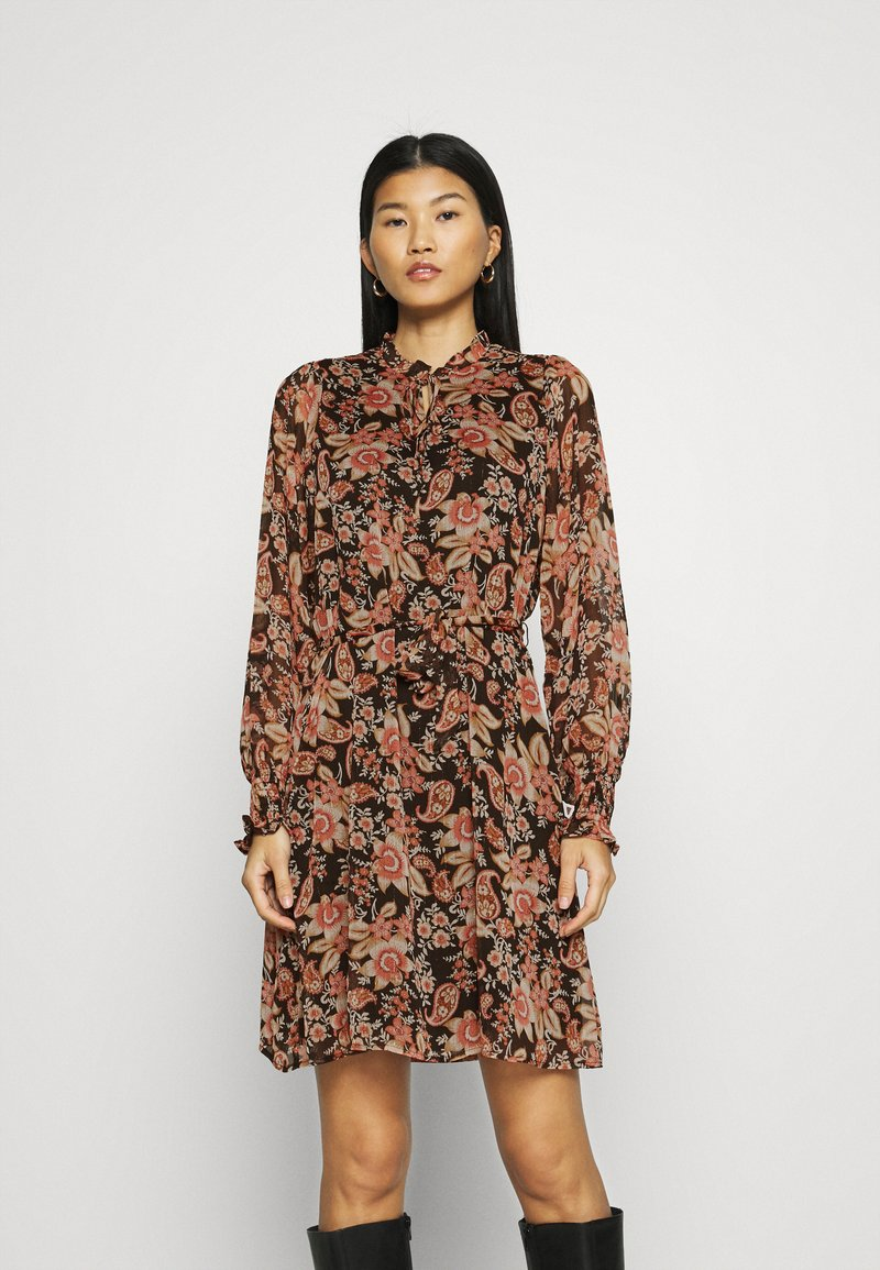 Esqualo - DRESS FLOWER PRINT - Day dress - multicoloured
