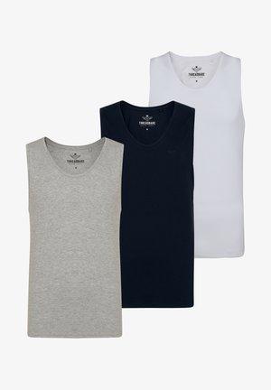 THREADBARE TANK-TOPS VEST BASIC 3 PACK - Undershirt - multi