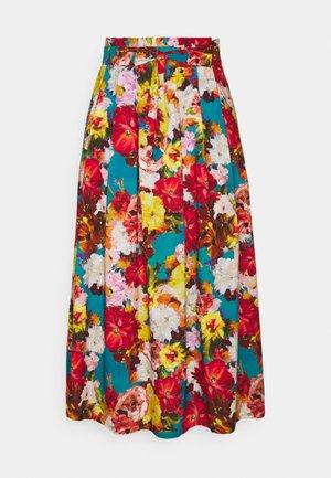 RAMO MEXICANO PLEAT SKIRT - Áčková sukně - multi