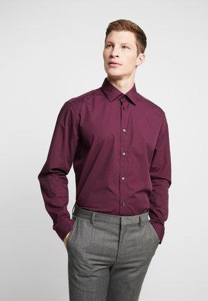 MINI STRUCT LS - Formal shirt - bordeaux red