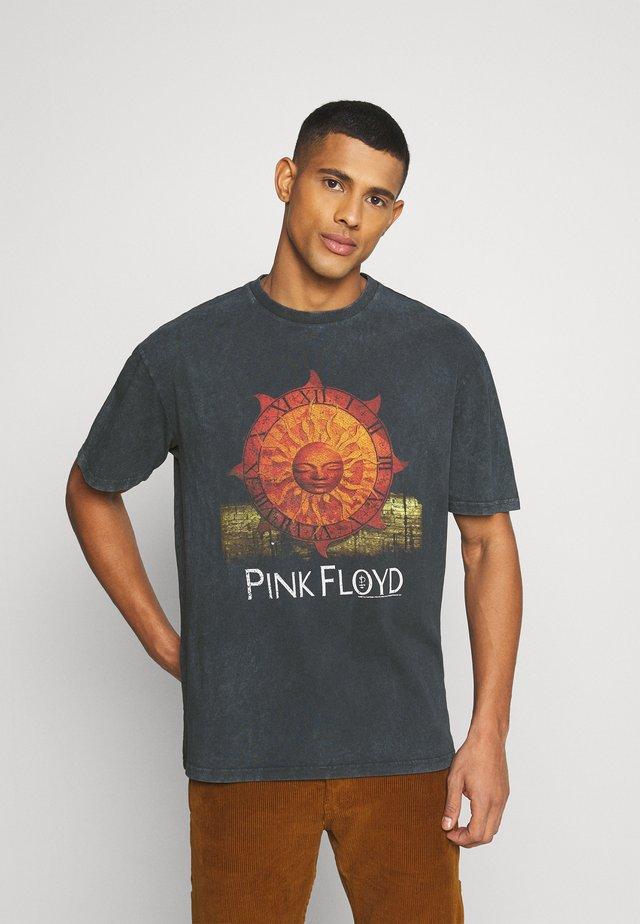 PINK FLOYD SUN TEE UNISEX - T-shirt med print - black