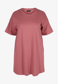 Zizzi - Basic T-shirt - deco rose - 3