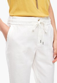 s.Oliver - Trousers - offwhite - 3