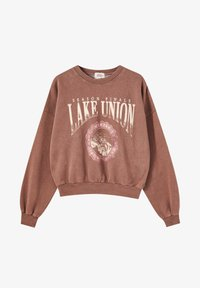 PULL&BEAR - Mikina - light brown - 5